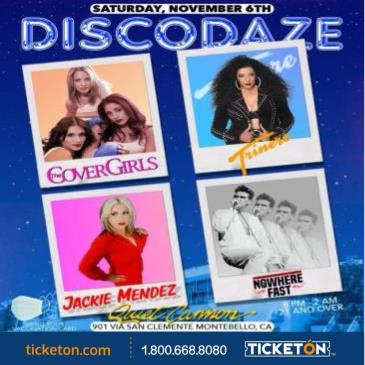 DISCODAZE: COVER GIRLS, TRINERE, JACKIE MENDEZ AND MORE: