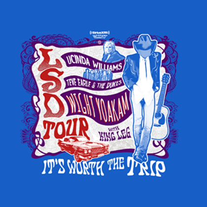 LSD Tour: L.Williams/S. Earle/D. Yoakam