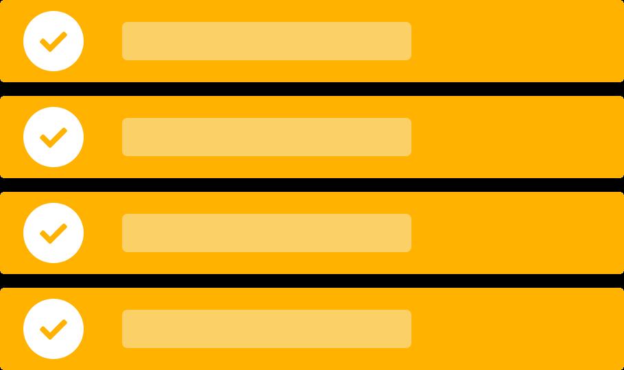 Features Checklist Illustration