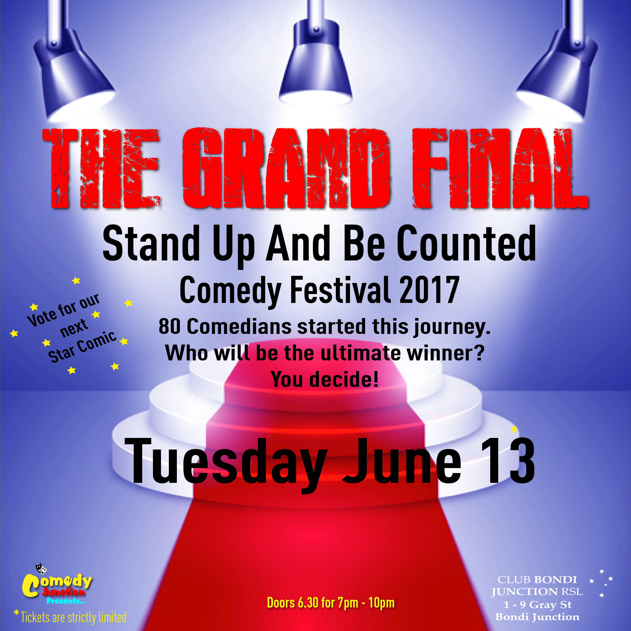 The Stand Up and Be Counted Comedy Festival 2017: Main Image