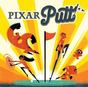 Pixar Putt: Main Image