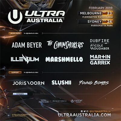 Ultra Australia: Main Image